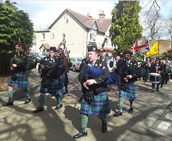 Piper, Pipe Band #3100 Image