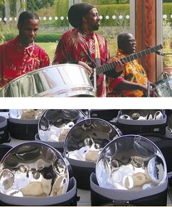 Caribbean Band, Steel Band #3210 Image