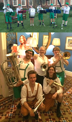 Brass Band, Function Band, Oompah Band #3711 Image