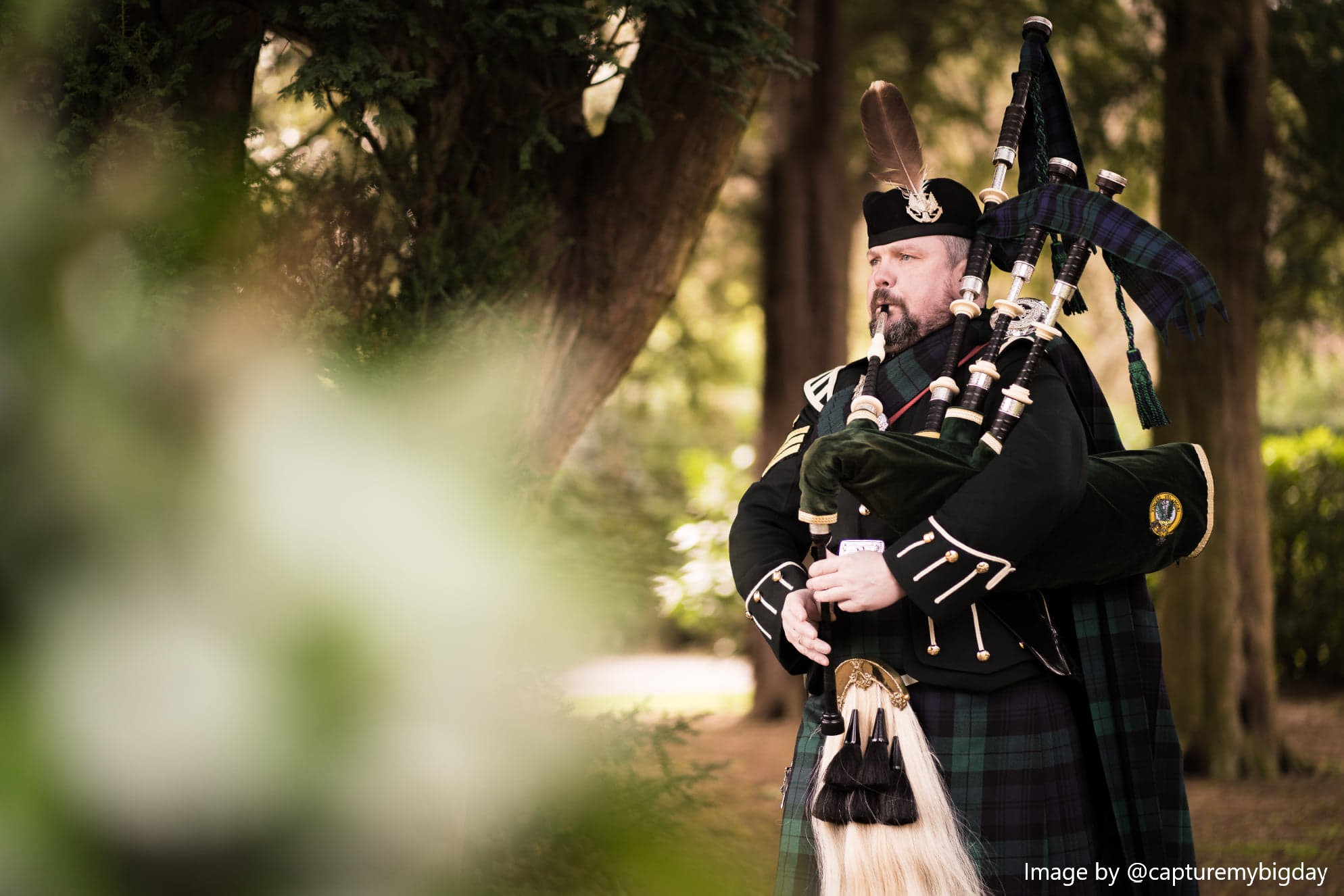 Pipe Band, Piper #3996 Image