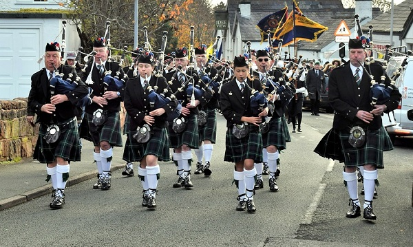#4094 - Piper, Pipe Band