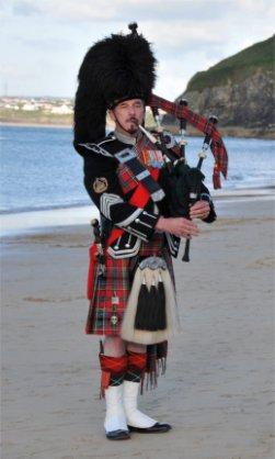 Bagpiper North Yorkshire: 753