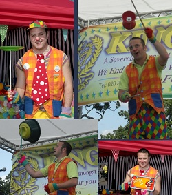 Circus Performer, Speciality Act, Clown, Childrens Entertainer #858 Image