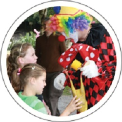 Childrens Entertainer, Clown, Compere, Face Painter, Lighting Hire, Mobile Disco, PA Hire #2480 Image