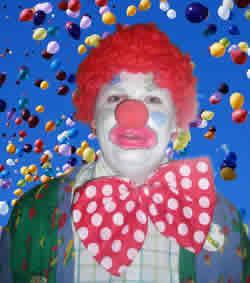 Clown Worcestershire, Ref: 758