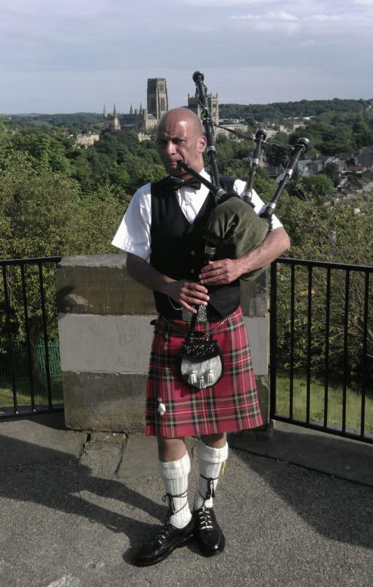 Bagpiper Tyne and Wear: 1922