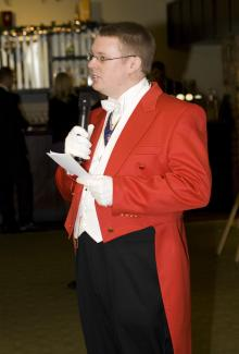 Master of Ceremonies, Toastmaster #1865 Image