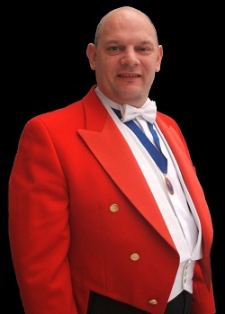 Compere, Master of Ceremonies, Toastmaster #1099 Image