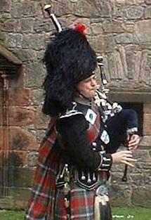Bagpiper Clackmannanshire: 1772