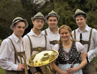 Brass Band, Brass Ensemble, Oompah Band #2135 For Hire Image