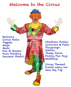 Childrens Entertainer, Clown #2772 Image