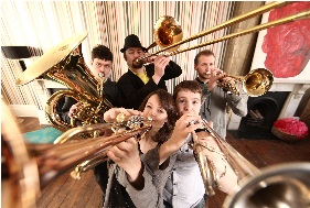 Brass Band, Brass Ensemble, Folk Band, Function Band, Oompah Band, Pop Band, Speciality Act #2573 Image